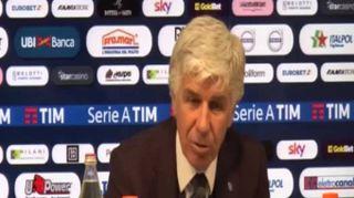 """Atalanta, Gasperini: """"Il loro pareggio ha cambiato la partita"""""""