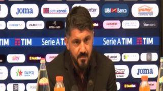 """Milan, Gattuso: """"Padroni del campo nel secondo tempo"""""""