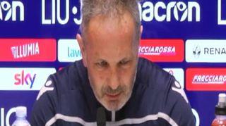 """Roma-Bologna, Mihajlovic: """"La Roma è forte ma non andiamo lì in gita"""""""