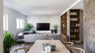 La trasformazione di un appartamento a Palermo