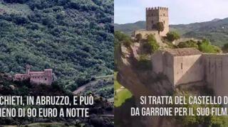 Il castello da fiaba in Italia che costa meno di 90 euro