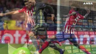 Champions: Juve sconfitta a Madrid, Atletico vince 2-0