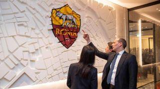 Calcio, AS Roma, inaugurata nuova sede all'Eur