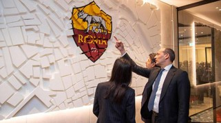 Calcio, AS Roma, inaugurata nuova sede all'Eur
