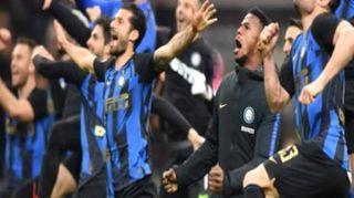 L'Inter vince il derby e scavalca il Milan al 3° posto