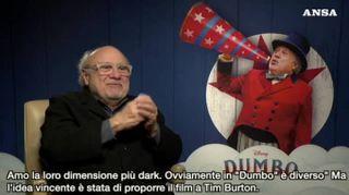 Cinema: Danny De Vito e Dumbo, sempre stato un fan di Disney