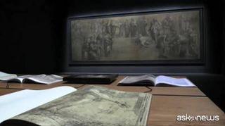 La Scuola di Atene, il cartone di Raffaello torna all'Ambrosiana