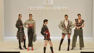 Accademia Italiana, le immagini della sfilata