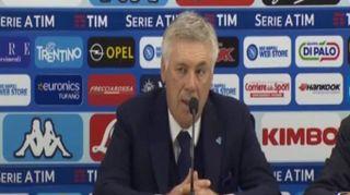 """Ancelotti deluso: """"Adesso dobbiamo cercare di blindare il secondo posto"""""""