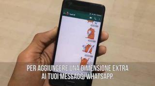 Sai usare gli adesivi di WhatsApp?