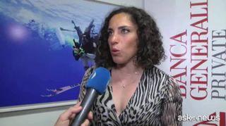 """La sciatrice Brignone tifa per Milano-Cortina: """"Possiamo farcela"""""""