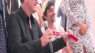 """Cannes, Tarantino ritira la """"Palm Dog"""": il premio al cane-star """"Brandy"""""""