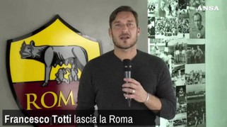Totti ha deciso, dirà addio alla Roma