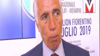 """Totti, Malagò: """"Penso voglia fare una cosa in cui si sente coinvolto"""""""
