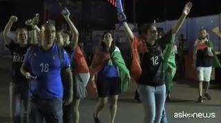 Mondiali di calcio femminile, festa azzurra a Valenciennes