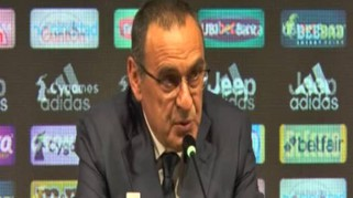 """Juve, Sarri: """"Champions? Si parte con l'obiettivo di vincere"""""""