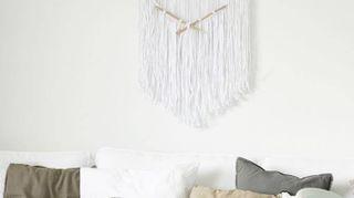 Appartamento stile nordico con molte idee fai da te da copiare