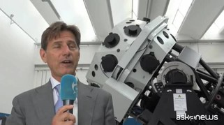Con Flyeye Italia a caccia d'asteroidi con lo sguardo d'una mosca