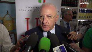 """Universiadi, De Luca: """"Ora rilanciamo Campania e usiamo gli impianti"""""""