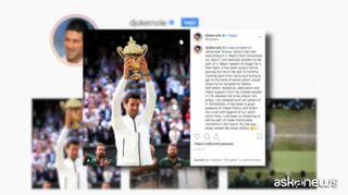 Novak Djokovic: grazie Roger, abbiamo fatto la storia del tennis