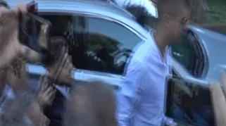 Roma, Mancini a Villa Stuart per le visite mediche