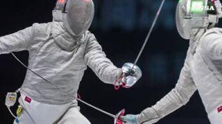 Mondiali di scherma, Curatoli bronzo nella sciabola