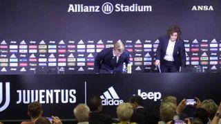 """de Ligt: """"Sarri uno dei motivi per cui volevo venire alla Juve"""""""