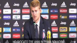 """De Ligt si presenta: """"Orgoglioso di come mi hanno accolto i tifosi della Juve"""""""