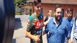 Napoli, visite mediche a Villa Stuart per Elif Elmas