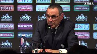 Juve, Sarri sta meglio ma saltera' i match con Parma e Napoli