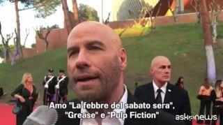 Festa di Roma, il saluto di John Travolta ai fan italiani: grazie