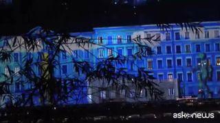 Festa delle luci di Lione, spettacolo ipnotico in tutta la città