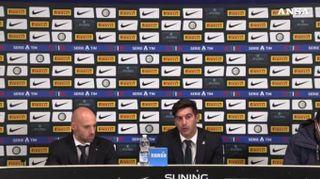 """Fonseca: """"Abbiamo giocato bene. L'Inter pericolosa solo su errori nostri"""""""