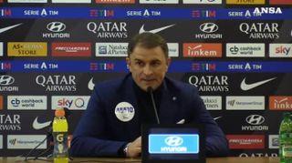 """Roma-Spal, Semplici: """"Esonero? L'allenatore e' come il cornuto..."""""""