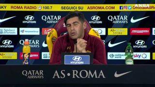 """Roma, Fonseca: """"Politano? Lo volevo ma adesso cerchiamo altro giocatore"""""""