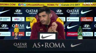 """Genoa-Roma, Fonseca: """"Settimana importante, squadra in fiducia"""""""