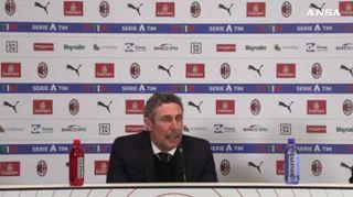 """Udinese, Gotti: """"Andiamo a casa con rammarico"""""""