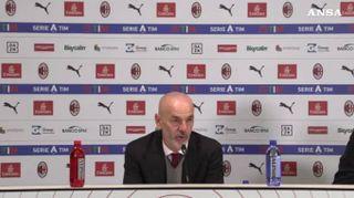 """Milan, Pioli: """"Avevo chiesto una settimana perfetta"""""""