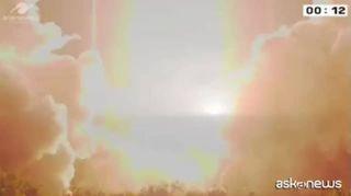 Spazio, lanciato il razzo Ariane 5: a bordo 2 satelliti asiatici