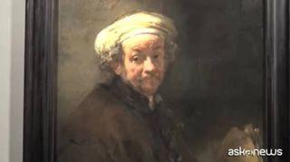 L'Autoritratto di Rembrandt torna a Palazzo Corsini a Roma
