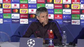 """Napoli, Setien: """"Emozionante esordire in Champions al San Paolo"""""""