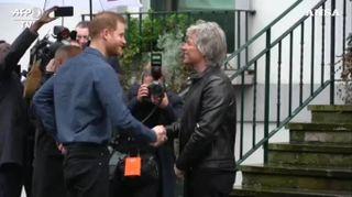 Londra, Harry e Bon Jovi cantano insieme negli studi di Abbey Road