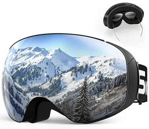 Maschera da Sci - Occhiali da Snowboard OTG